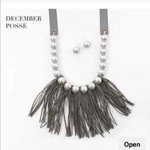 NEW Plunder December Posse-Gray Tassels